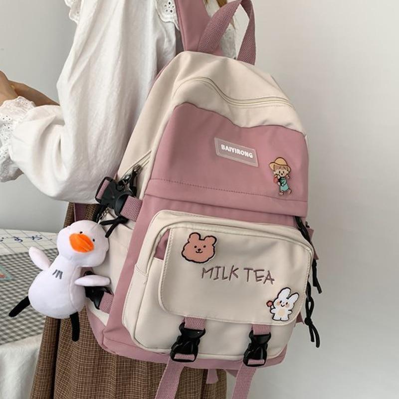 Kawaii Milk Tea Harajuku Backpack – Limited Edition