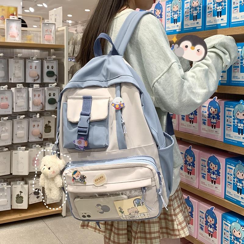 Kawaii College Style Ita Harajuku Backpack
