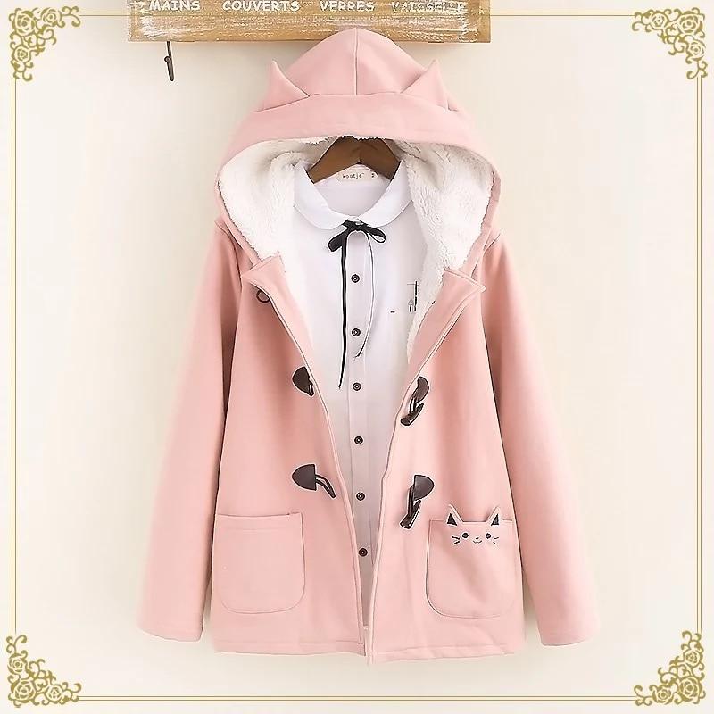 Kawaii Neko Cat Harajuku Coat – Special Edition