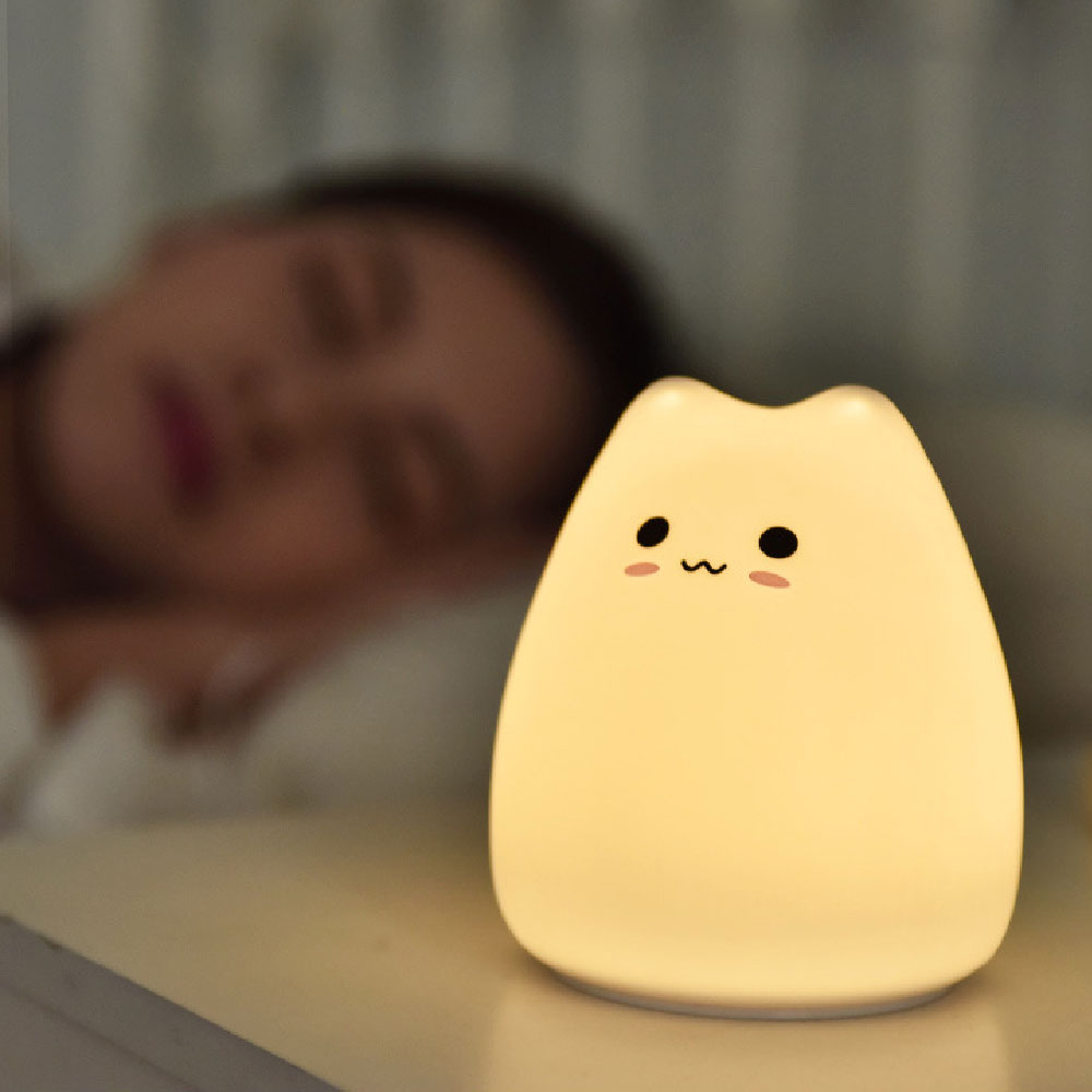 Kawaii Cat Silicone Lamp – Limited Edition