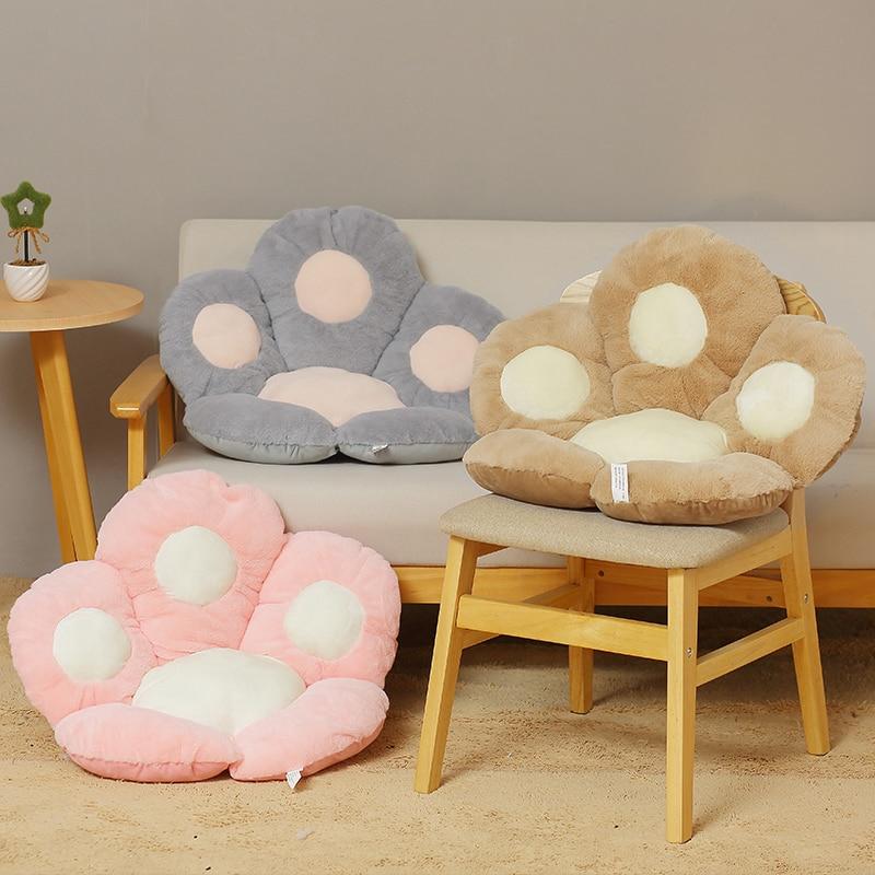 Kawaii Bear Paw Seat Cushion (50cm) – Limited Edition