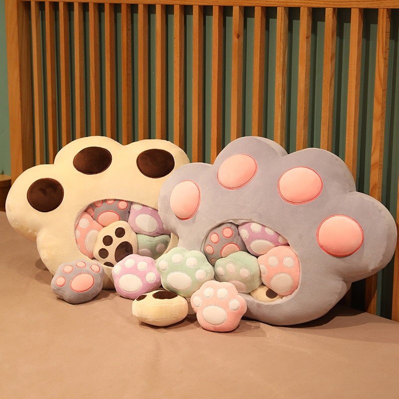 A Bag of Kawaii Cat Paw Plushies – Special Edition