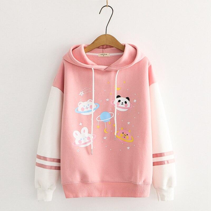 Kawaii Galaxy Stars Harajuku Pastel Hoodie – Special Edition