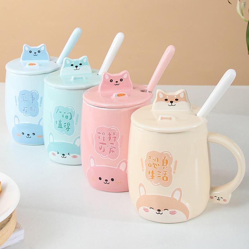Kawaii Chubby Hamster Ceramic Cup (400ml) – Limited Edition