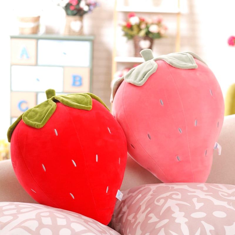 Kawaii Fruit Series Strawberry Plush XL