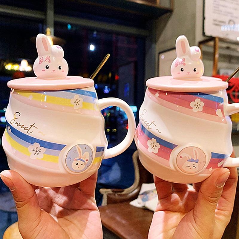 Kawaii Sweet Bunny Rabbit Ceramic Mug
