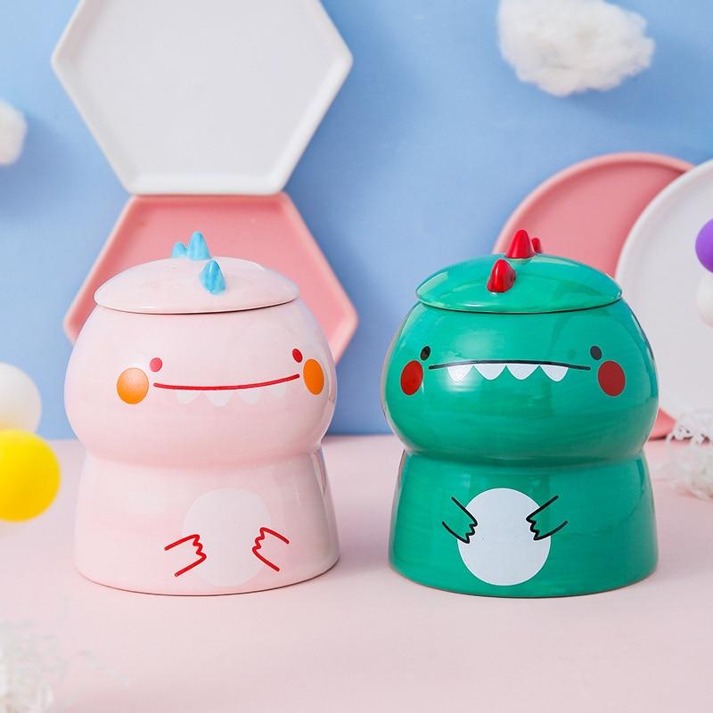 Kawaii Cute Dinosaur Ceramic Cup – Limited Edition