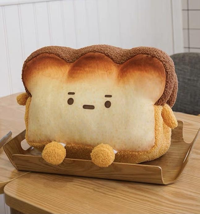 Kawaii Bread Toasty Plush (40cm) – Limited Edition