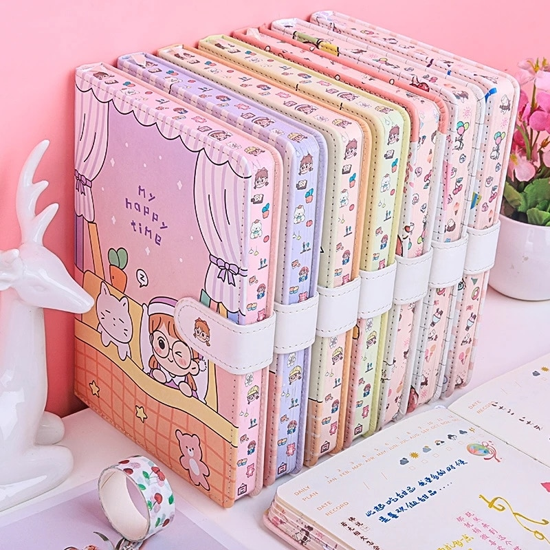 Kawaii Cute Pastel Notebook Diary – Limited Edition