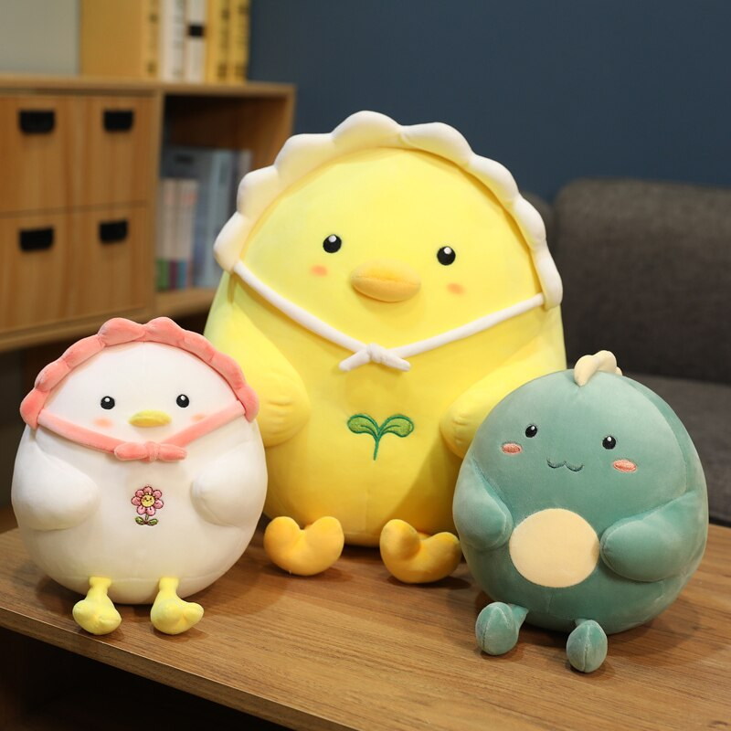 Kawaii Therapy Chubby Chicken Plush – Limited Edition