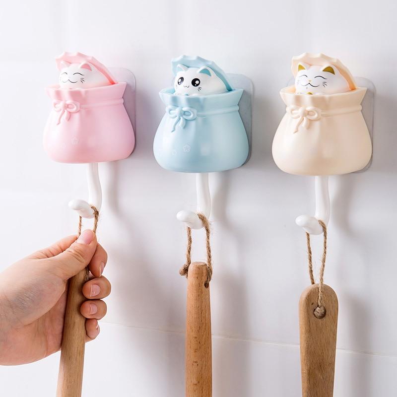 Kawaii Cats Pop-Up Sticky Wall Hanger