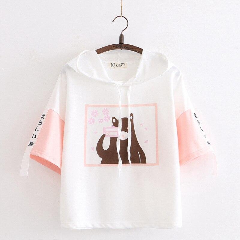 Kawaii Sakura Bear Harajuku Shirt