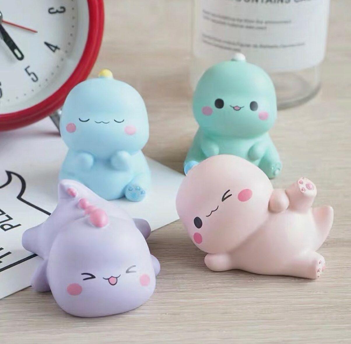 Kawaii Mini Dinosaur Dolls – Limited Edition