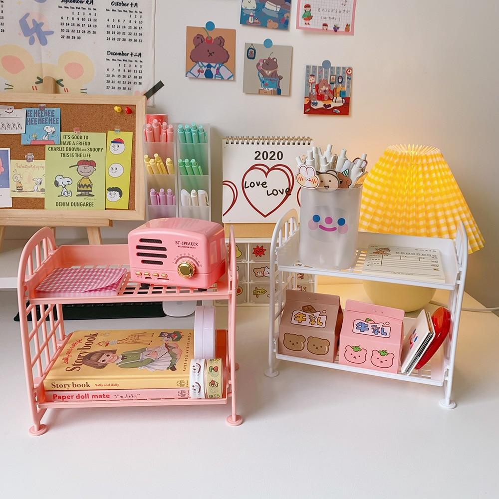 Kawaii Korea Style Stationery Storage Rack