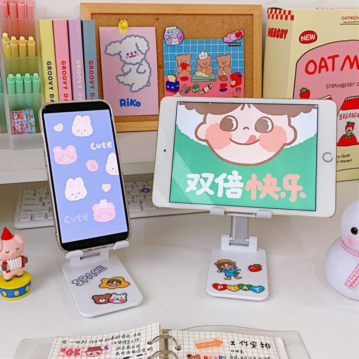 Kawaii Desktop Foldable Mobile Phone Holder
