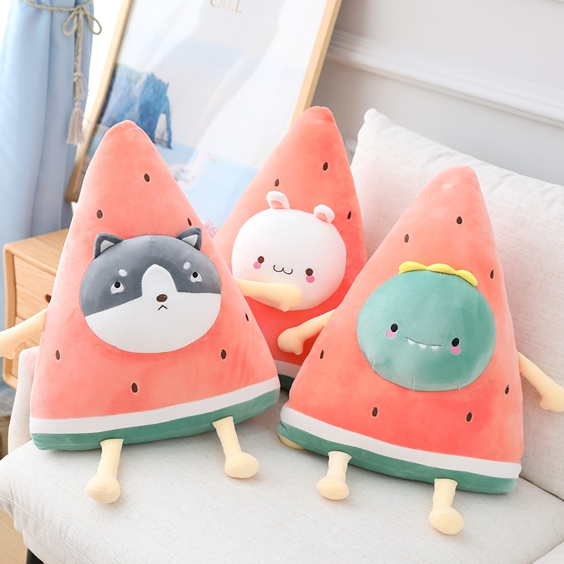 Kawaii Watermelon Fruit Animal Plush (50cm)