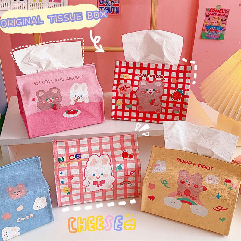 Kawaii Korea Style Tissue Box Wrapper