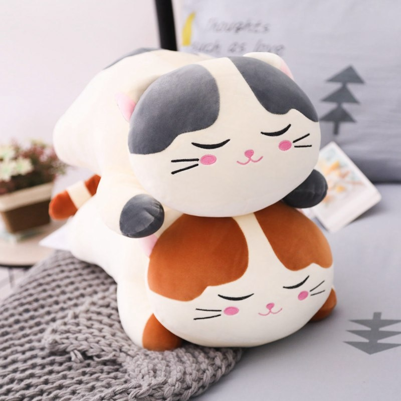 Kawaii Soft Neko Cat Plush (55cm) – Limited Edition