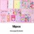 Pink 18pcs