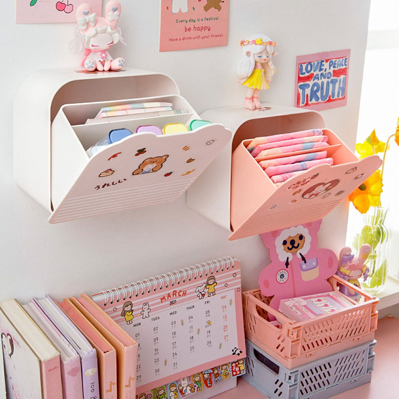 Kawaii Korea Style Desk Storage Organizer