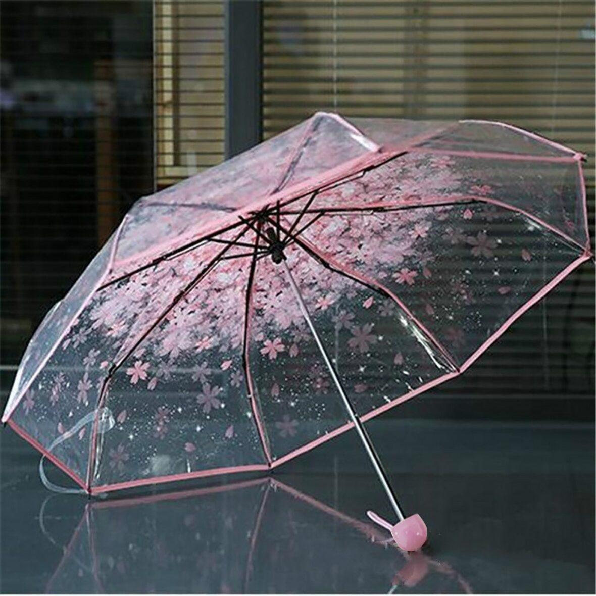 Kawaii Cherry Blossom Sakura Umbrella – Limited Edition
